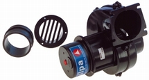 Afzuigventilator voor motorruimtes Capaciteit 280 m³/uur 24V