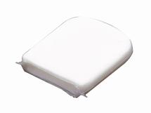 Beschermkap voor zeillat   40mm  kleur wit