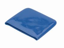 Beschermkap voor zeillat   50mm  kleur blauw