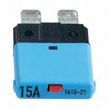 Automaat steekzekering 15 ampere