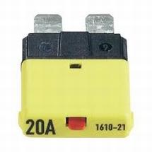 Automaat steekzekering 20 ampere