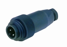 Binder Mini stekker walaansluiting 16A 230V  man. 3-polig