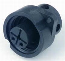 Binder Mini stekker walaansluiting 16A 230V inbouw 3-polig