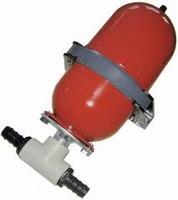 Accumulator (expansietank) staal met corrosiebescherming