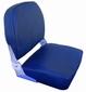 Corfu Klapstoel donker blauw met neerklapbare rugleuning