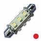 Exalto LED Navigatielamp rood     10-16V  1,2W