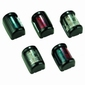 Mini positielantaarn rood/groen zwart 2 nm  2x112,5°