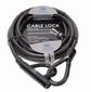Stazo antidiefstal kabel met slot    5meter x Ø20mm
