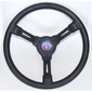 Stuurwiel Riviera 3 spaaks volkunststof zwart