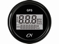 CN GPS Snelheidsmeter  digitaal zwart/zwart  diameter  52mm