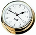W&P Endurance 125 Quartz Clock in Brass (530500)