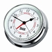W&P Endurance 125 Time & Tide Clock in Chrome (540300)