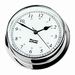 W&P Endurance 125 Quartz Clock in Chrome (540500)