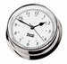 W&P Endurance 85 Quartz Clock in Chrome (320500)