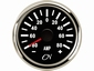 CN Amperemeter   9-32 V   zwart/chroom  diameter  57mm