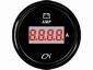 CN Amperemeter   9-32 V   zwart/zwart  diameter  57mm