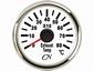 CN  uitlaatgas temperatuurmeter analoog wit/chroom