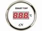CN  uitlaatgas temperatuurmeter digitaal wit/chroom