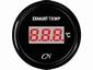CN  uitlaatgas temperatuurmeter digitaal zwart/zwart