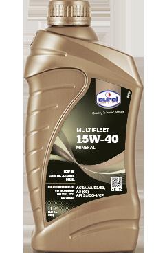 Eurol minerale motorolie  15W40  Flacon 1 liter