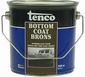 Tenco BottomCoat brons  blik 2,5 liter