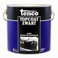 Tenco TOPCoat zwart blik 5 liter