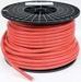 Dubbel geïsoleerde accukabel rood 50 mm2