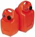 Brandstoftank kunstof 25 liter met reserve