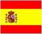 Spaanse vlag 20x30cm