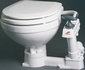 Johnson Compact handpomp toilet