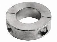 Zinken-schroefas-anodes ringvormig