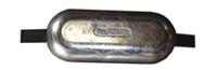 Aluminium lasstrip-anodes