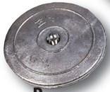 Aluminium roerblad anode